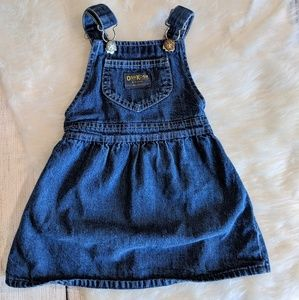VTG Oshkosh Denim Pinafore Dress
